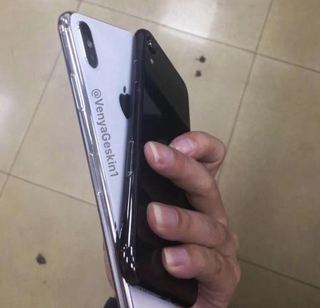 Lộ ảnh iPhone X Plus 2018 và iPhone màn hình 6.1 inch