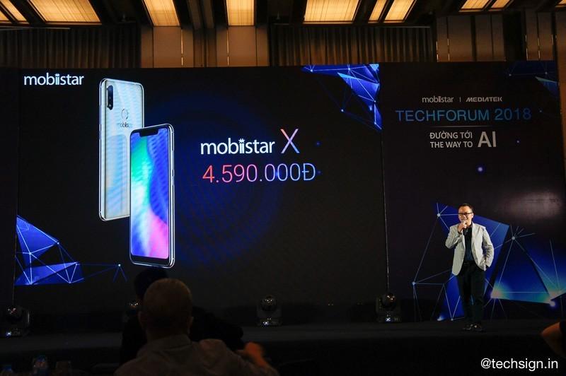 Mobiistar X ra mắt: tai thỏ, chip Helio P22, tích hợp AI, giá 4,6 triệu đồng