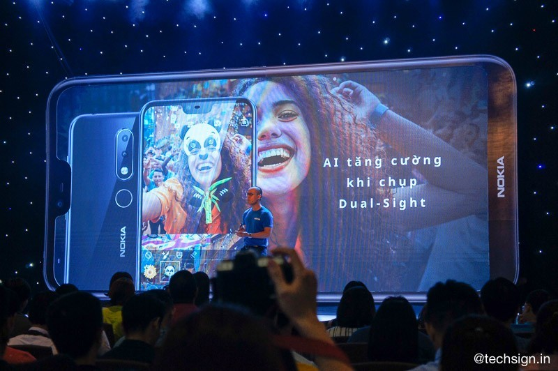 Nokia 6.1 Plus ra mắt thị trường Việt, giá 6,59 triệu đồng
