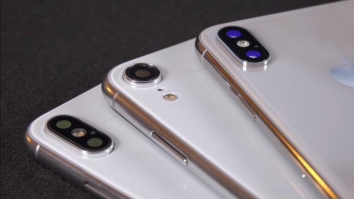 Rò rỉ ba mẫu thiết kế iPhone 2018 trong video mới