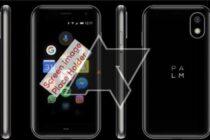 """Rò rỉ hình ảnh smartphone mới của Palm với tên mã """"Pepito"""""""