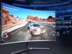 Samsung công bố hai màn hình cong chơi game 'giá cả phải chăng'