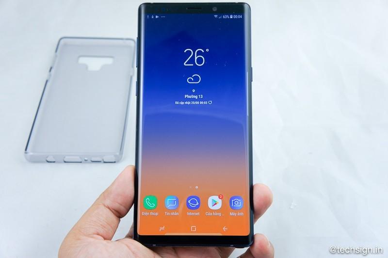 Mở hộp Samsung Galaxy Note9: đẹp, đầy đủ, cao cấp