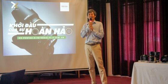 Ti Xi Ai giới thiệu ống kính HD Pentax-D FA*50mm F/1.4