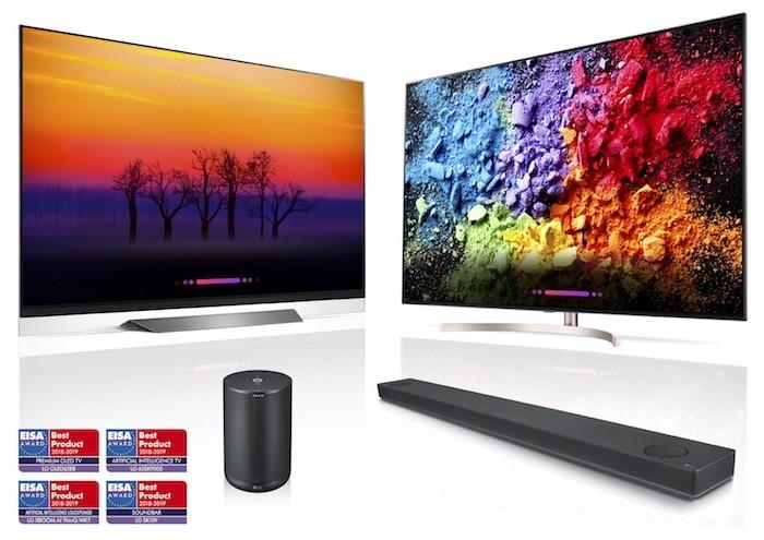 TV tích hợp AI của LG nhận giải thưởng của EISA