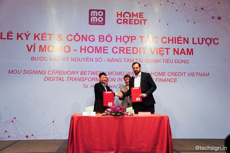 Ví MoMo hợp tác chiến lược cùng Home Credit, giúp tiếp cận nguồn vốn vay dễ dàng