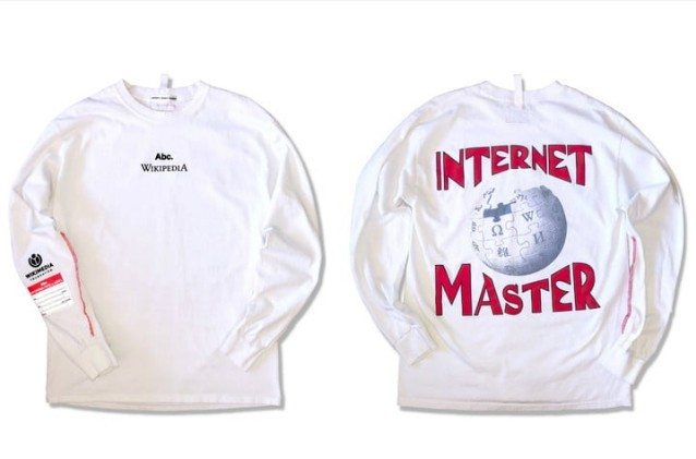 Wikipedia hợp tác với hãng streetwear để gây quỹ hoạt động