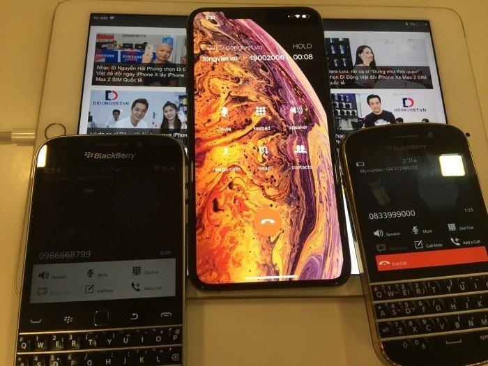 Cấu hình 2 sim online cùng lúc trên iPhone Xs Max 2 sim quốc tế