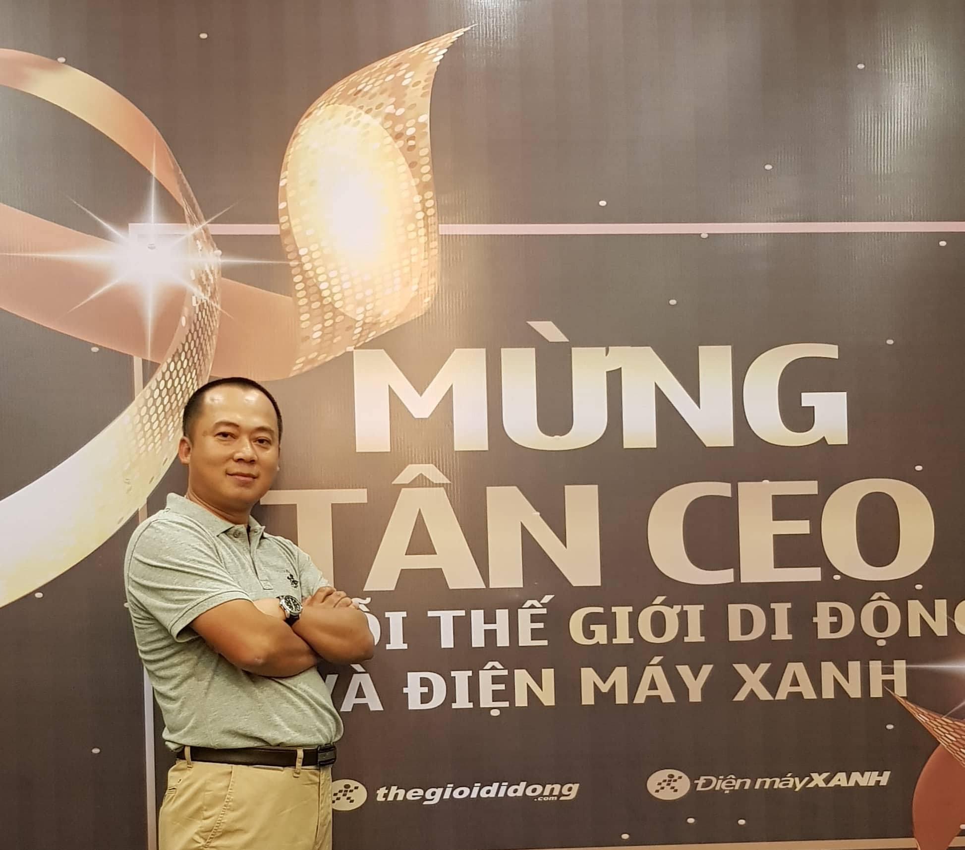 Ông Đoàn Văn Hiểu em là tân CEO của Thế Giới Di Động