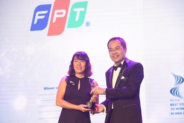FPT trong danh sách 130 công ty có môi trường làm việc tốt nhất châu Á