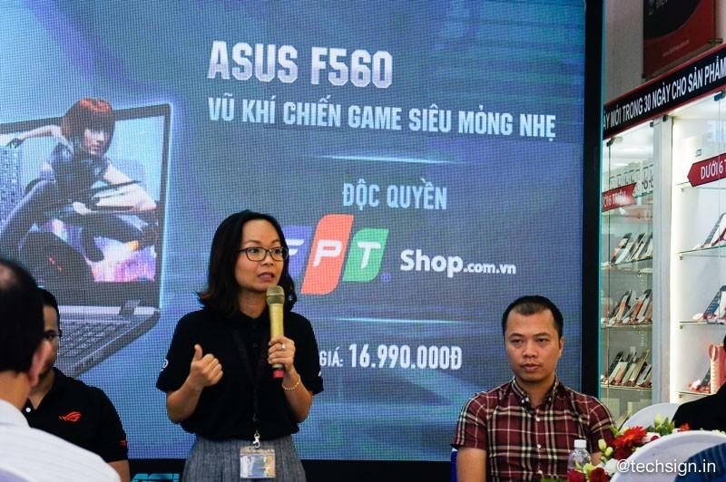 FPT Shop bán độc quyền laptop gaming ASUS F560, giá 17 triệu đồng