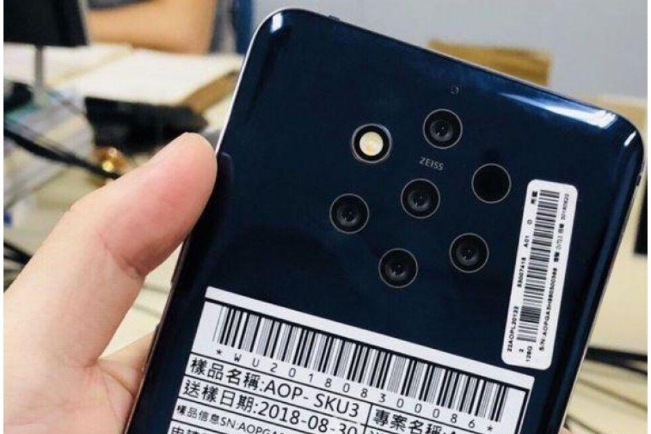 HMD Global dời ngày phát hành Nokia 9 sang tháng 2/2019