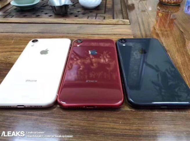 iPhone Xc màn 6,1 inch lộ ảnh, sở hữu 2 khe cắm SIM