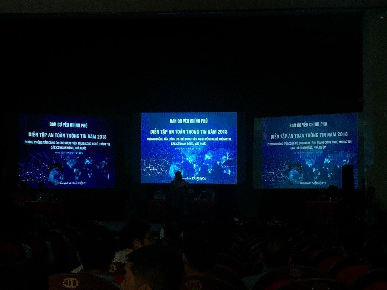 Kaspersky Lab cùng Ban Cơ yếu Chính phủ tổ chức Hội nghị diễn tập an toàn thông tin