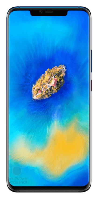 Lộ diện hình ảnh của Huawei Mate 20 Pro với cụm ba camera