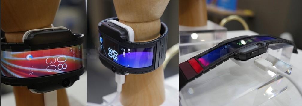 Lộ hình ảnh chiếc điện thoại thông minh Nubia Alpha có thể đeo tay như đồng hồ