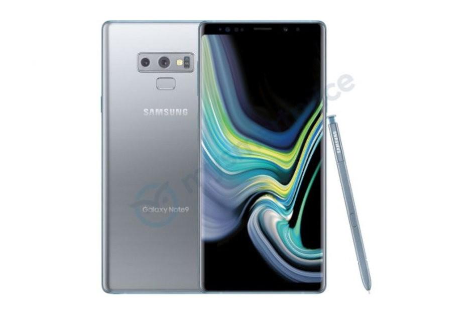 Rò rỉ phiên bản màu bạc cực đẹp của Samsung Galaxy Note9
