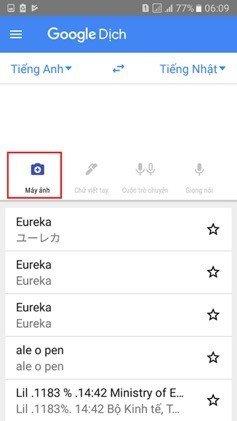 Cách sử dụng camera smartphone làm công cụ dịch thuật