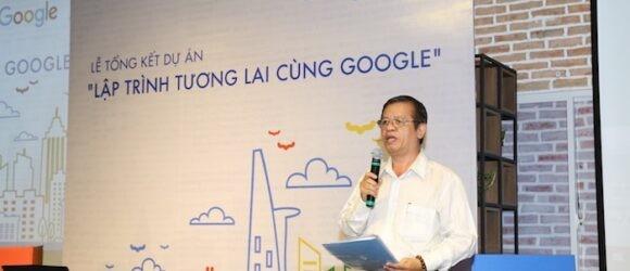 """Dự án """"lập trình tương lai cùng Google"""" đã đến với hơn 1.300 học sinh tiểu học"""