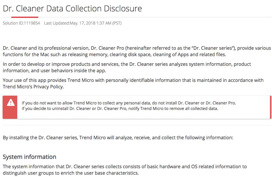 Trend Micro: Cáo buộc đánh cắp dữ liệu người dùng là không đúng
