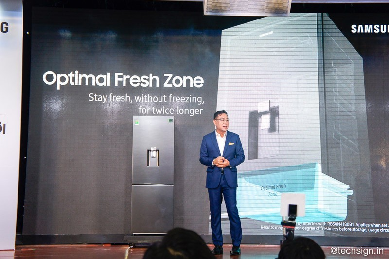 Samsung ra mắt tủ lạnh ngăn đá phía dưới tại Việt Nam