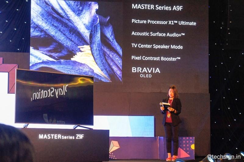 Ra mắt bộ đôi TV MASTER Series A9F và Z9F tại sự kiện Sony Show