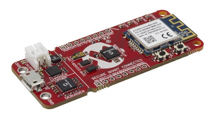 Bo mạch AVR MCU của Microchip hướng đến Google Cloud IoT Core