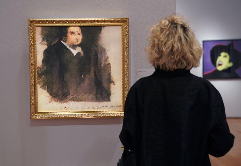 Bức tranh vẽ bằng AI được bán với giá 432.500 USD