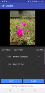 Cách chuyển ảnh Motion Photos sang ảnh GIF trên các flagship Samsung