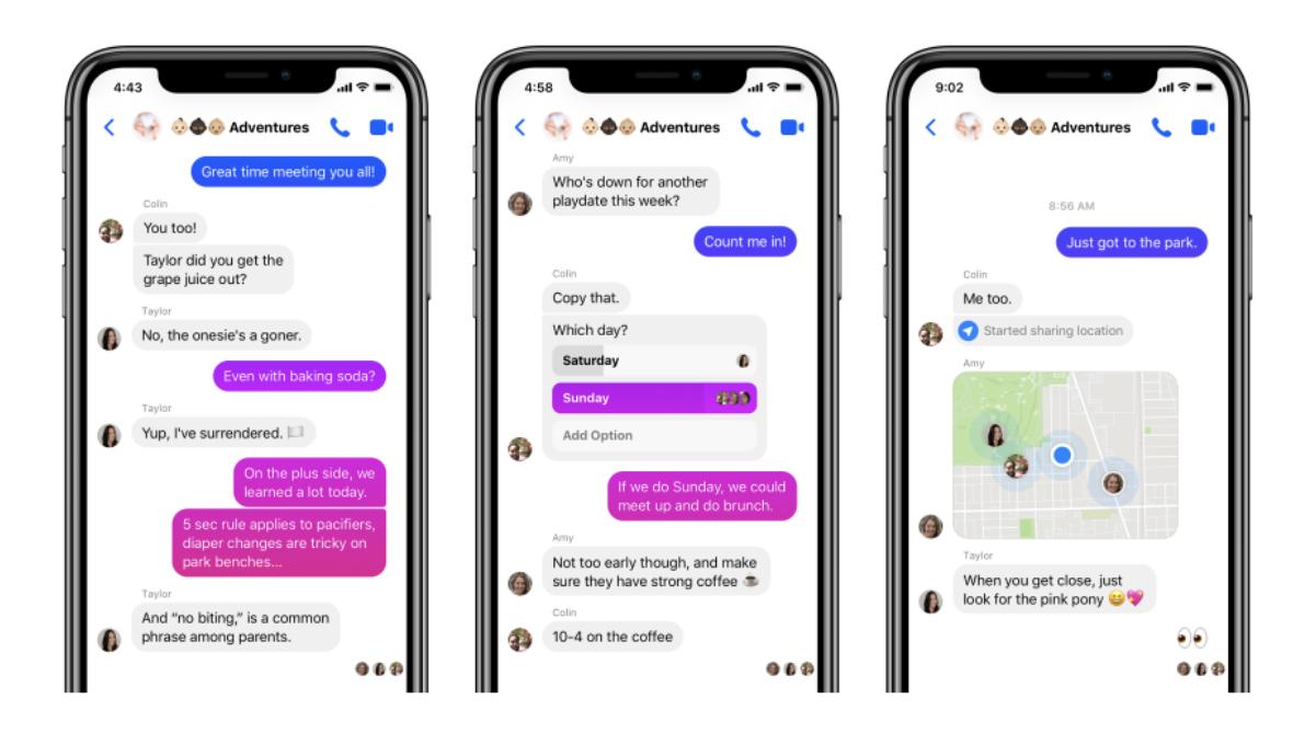 Facebook giới thiệu Messenger 4