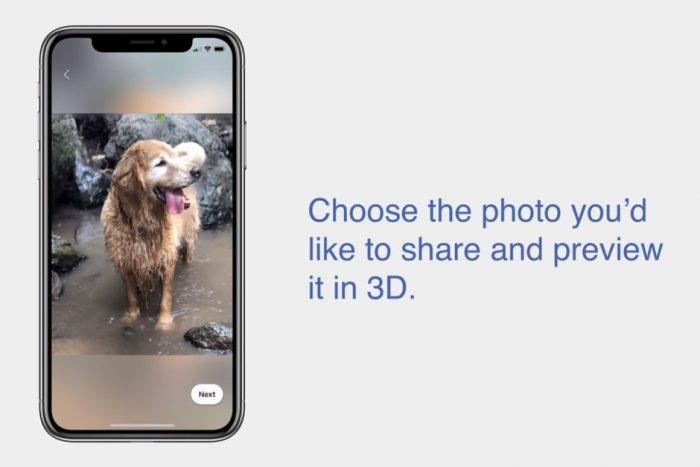 Facebook sẽ tung tính năng đăng hình ảnh 3D