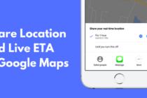 Google Maps nâng cấp, cho phép chia sẻ vị trí trực tiếp trên iOS