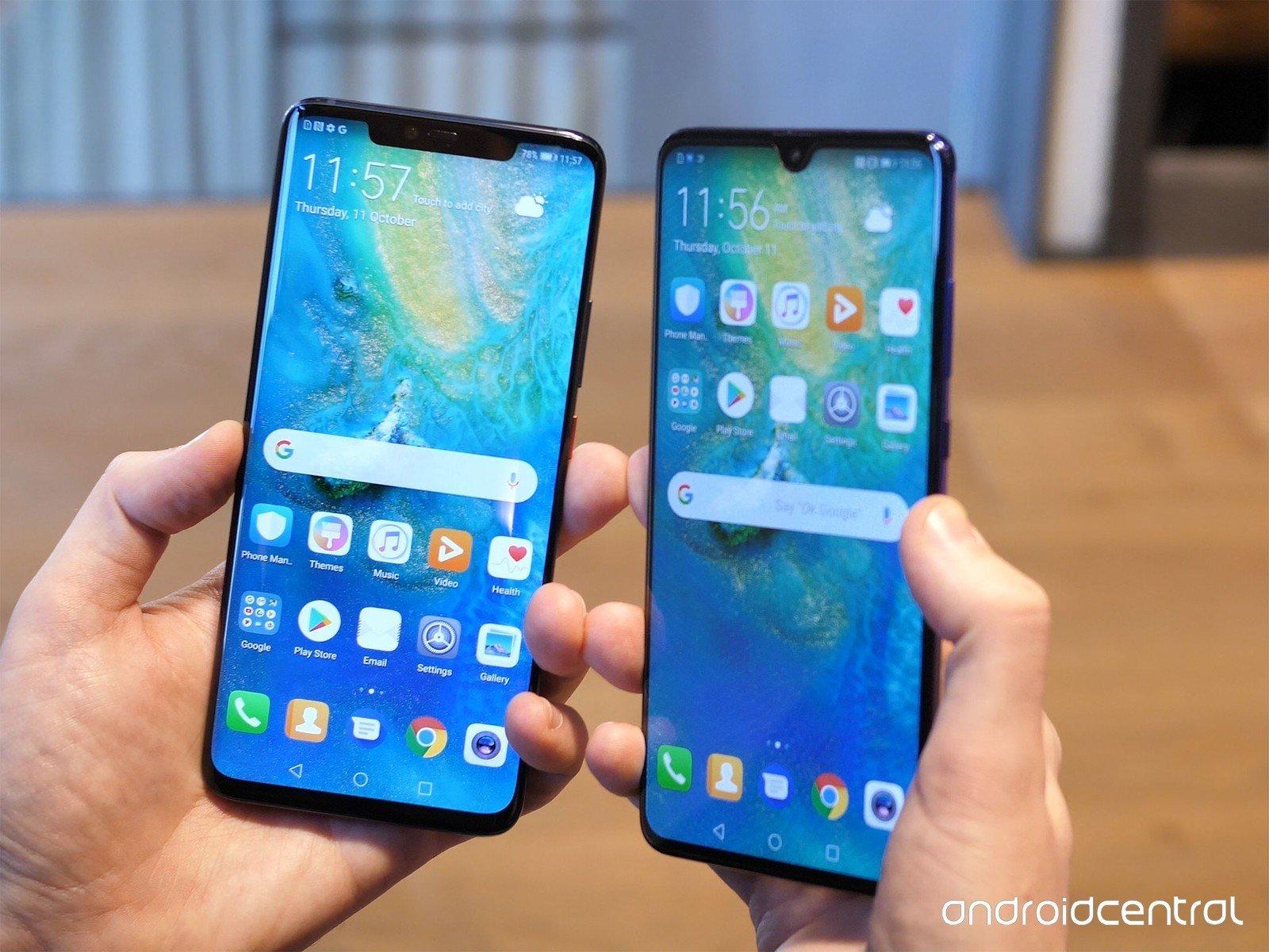 Huawei công bố bộ đôi Mate 20 và Mate 20 Pro