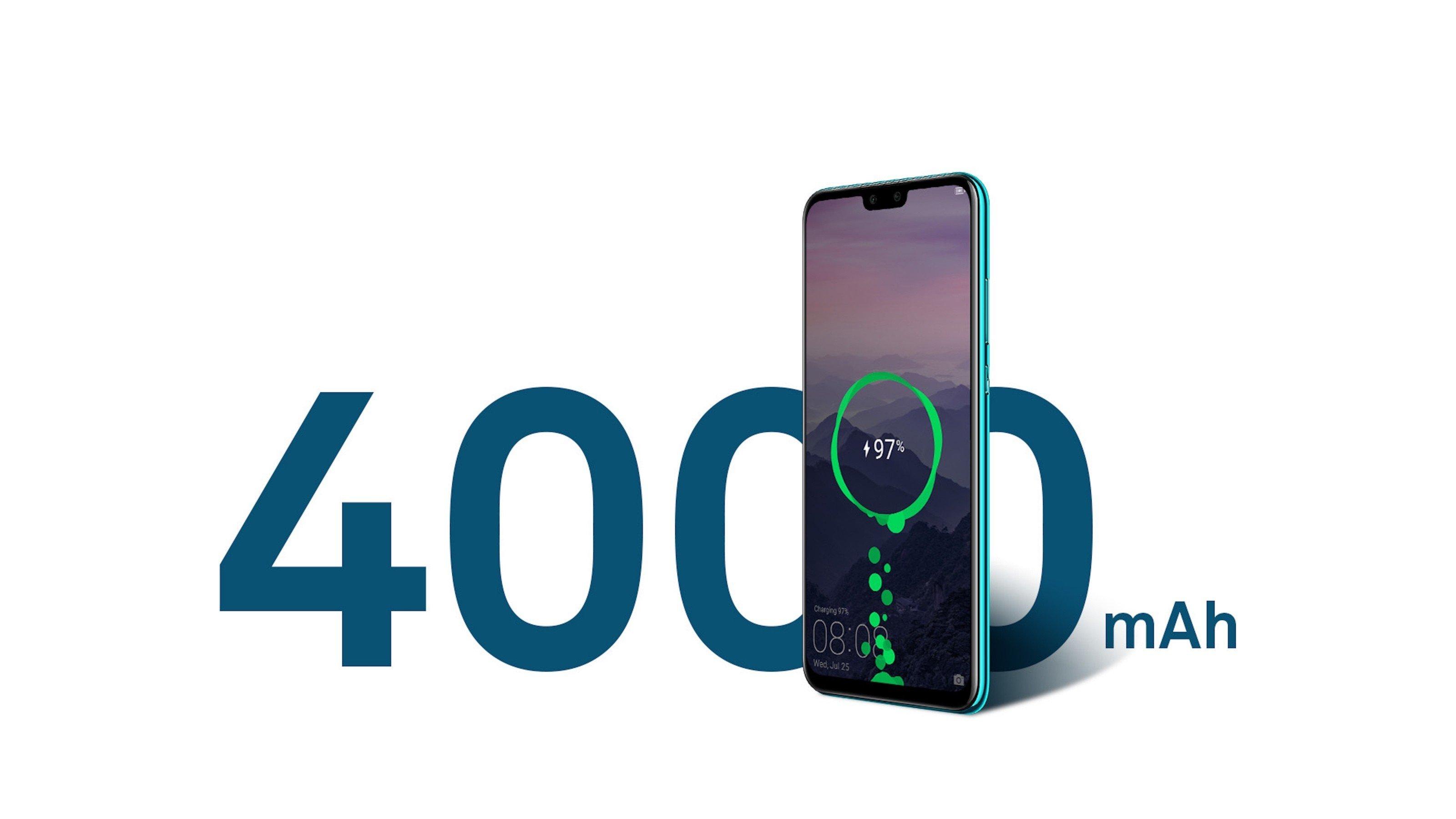 Huawei Y9 2019 ra mắt: màn hình tràn viền, 4 camera, giá 5,5 triệu