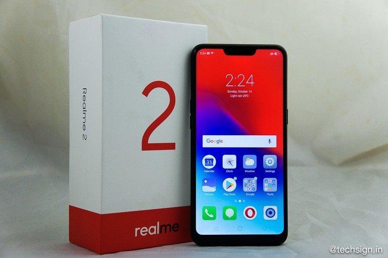 Mở hộp Realme 2: đậm cá tính, máy thiết kế đẹp