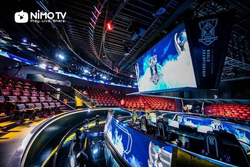 Nimo TV chia sẻ quyền phát sóng giải chung kết thế giới Liên Minh Huyền Thoại 2018