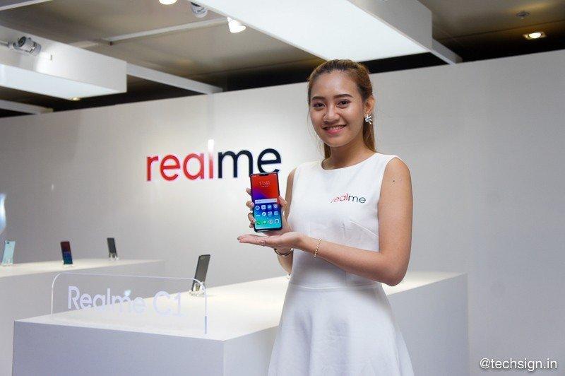 Realme ra mắt đến 3 smartphone là C1, Realme 2 và Realme 2 Pro