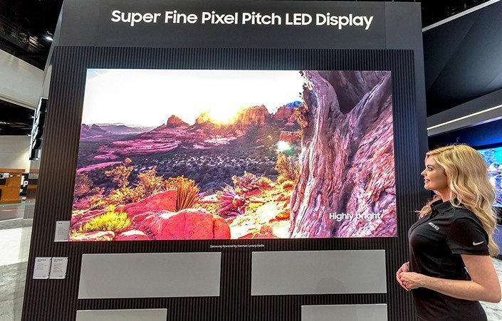 Samsung ra mắt hai dòng màn hình micro LED mới