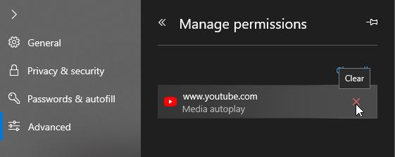 Cách tắt tính năng tự động phát video trên Microsoft Edge