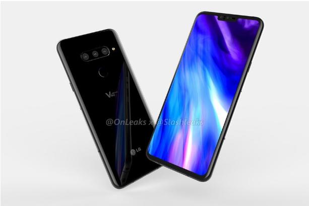 Thông tin tiết lộ LG V40 ThinQ có 5 camera