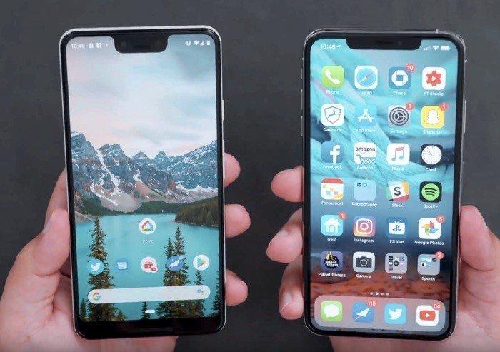 Tốc độ Google Pixel 3 XL thua kém iPhone Xs Max
