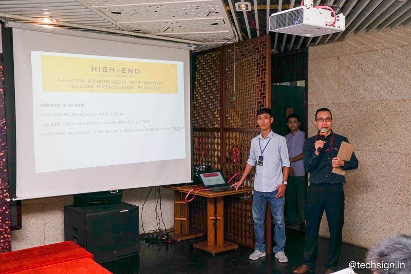 Vietnam Hi-end Show 2018 sẽ diễn ra vào cuối tuần này