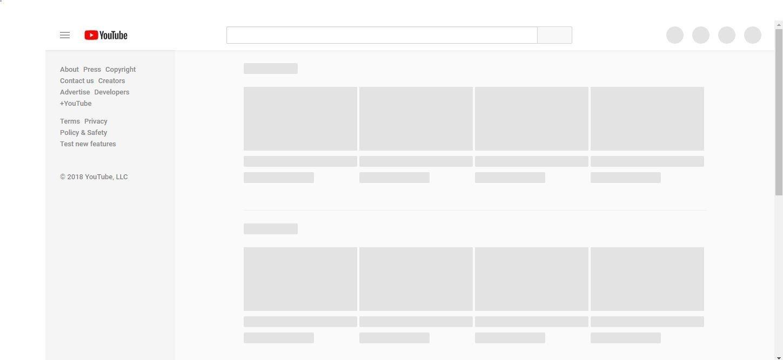 YouTube sập toàn cầu