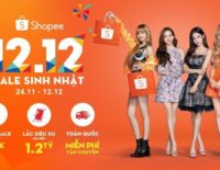 12.12 Shopee Sale Sinh nhật giảm giá đến 95%