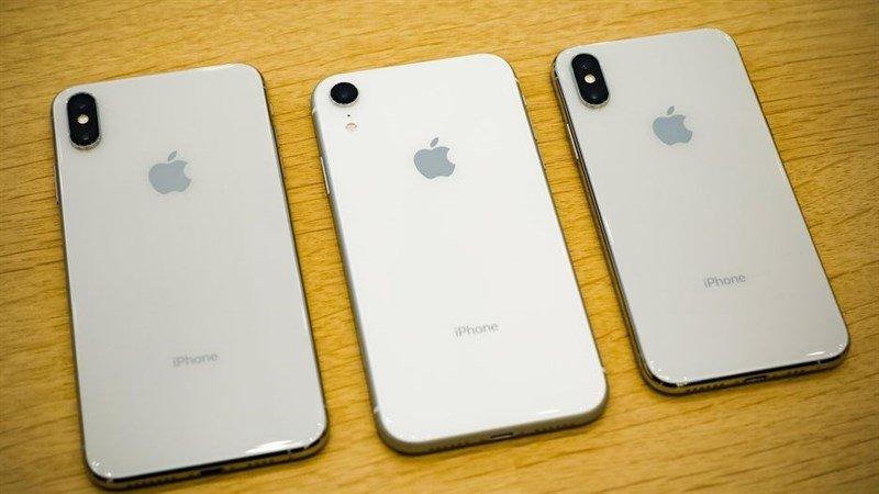 Apple đang giảm lại các đơn đặt hàng sản xuất iPhone 2018
