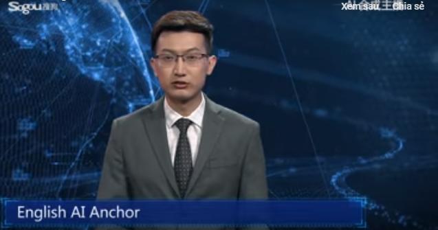 Báo chí Trung Quốc dùng người ảo tạo bởi trí tuệ nhân tạo để đưa tin