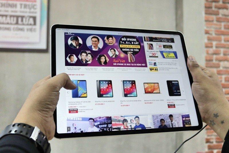 Di Động Việt bán iPad Pro và Macbook Air 2018, giá khởi điểm 25 triệu
