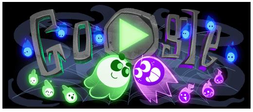 Google ra mắt game Doodle Halloween tương tác nhiều người chơi