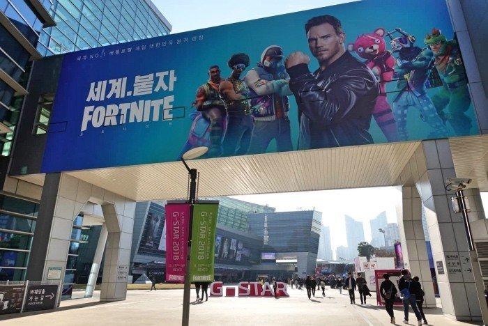 Hình ảnh khai mạc triển lãm game G-Star 2018
