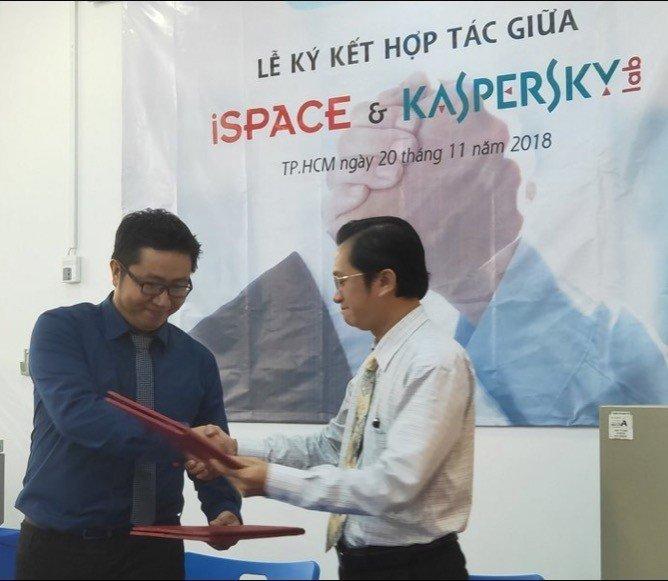 iSpace hợp tác với Kaspersky Lab đào tạo nhân lực an ninh mạng